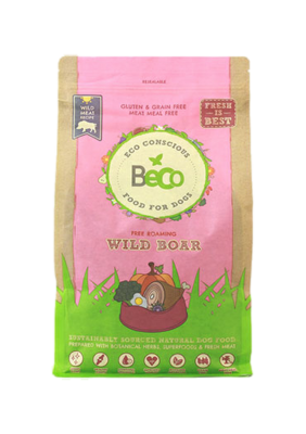 Beco Dry Dog Food: Adult Free Roaming Wild Boar