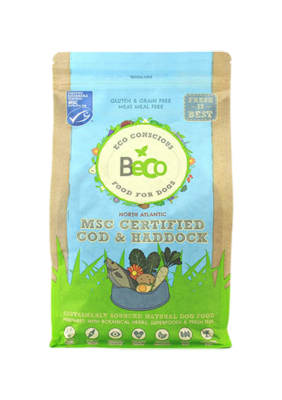 Beco Dry Dog Food: Adult MSC Certified Cod & Haddock