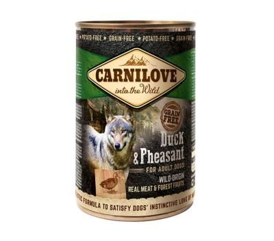 Carnilove Wet Dog Food: Adult Duck & Pheasant 6x400g
