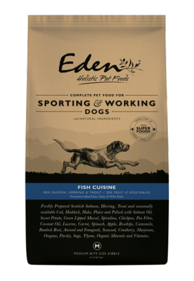 Eden Working Dog Food: 80/20 Fish Cuisine for Working and Sporting 15kg