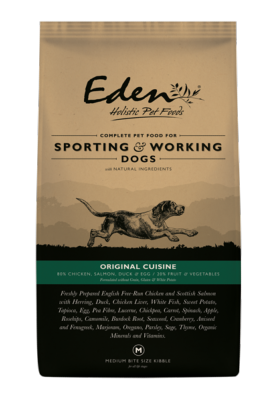Eden Working Dog Food: 80/20 Original Cuisine for Working and Sporting 15kg