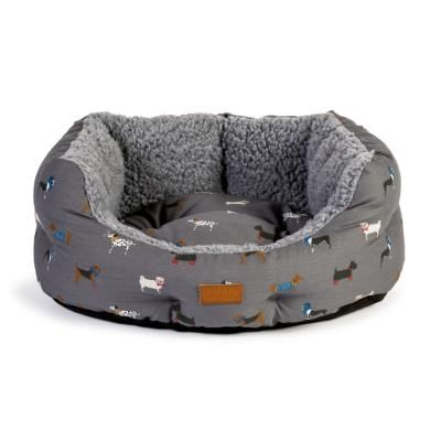 FatFace Marching Dogs Deluxe Slumber Dog Bed