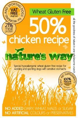 Nature's Way Dog Food: Adult Working Dog Chicken Recipe